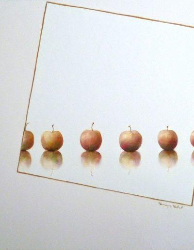 Les Pommes chez Malevitch 2, 2018