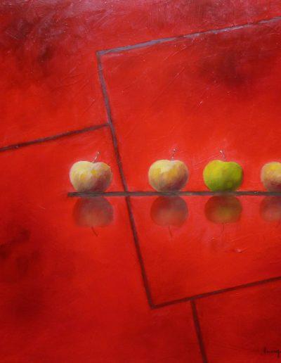 Les Pommes, Carré Rouge, 2018