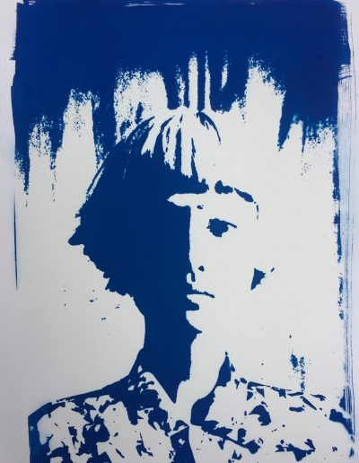 Yin-Yang (Cyanotype), 2017